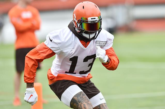 Can OBJ help the Browns live up to the hype? Mandatory Credit: Ken Blaze-USA TODAY Sports