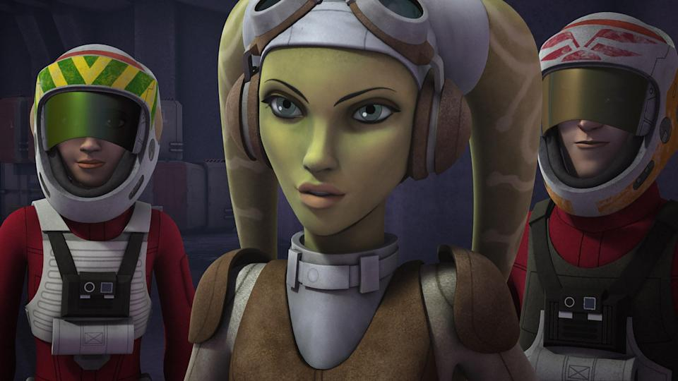 "<p>Done with <em>Clone Wars</em> and looking for more Jedi action? <em>Rebels</em> is good, nerdy fun and features the voice acting of Freddie Prinze, Jr, who is not-so-secretly a huge <em>Star Wars</em> buff. This series is almost a kid-friendly companion to <em>The Mandalorian</em>, for the young Padawan taking their first steps into the Force.</p> <p><a href=""https://cna.st/affiliate-link/3m18KYZScRhcLgCMSsNGYi9NN7XdmEUXAN4hxBLjjJ2UwanRUsBHuHLy2qq2trub1mdJ879zR6b9Ctdpc8w5irSMQcTiuytrzNYPaNtgDEPesYg7XenTstPKoKnsJn?cid=602d2c93d39470a593a90b31"" rel=""nofollow noopener"" target=""_blank"" data-ylk=""slk:Watch now on Disney+"" class=""link rapid-noclick-resp""><em>Watch now on Disney+</em></a></p>"