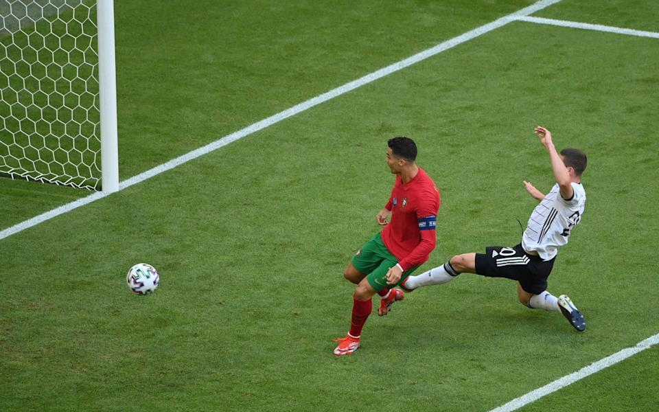 Ronaldo scores opening goal - GETTY IMAGES