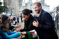 """<p>Autographs are also out of the question. This rule is very practical and is in place to <a href=""""https://www.harpersbazaar.com/culture/features/a13446888/royal-family-autographs/"""" rel=""""nofollow noopener"""" target=""""_blank"""" data-ylk=""""slk:avoid forgeries"""" class=""""link rapid-noclick-resp"""">avoid forgeries</a>. </p>"""