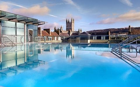 Thermae Bath Spa - Credit: PHILIP EDWARDS