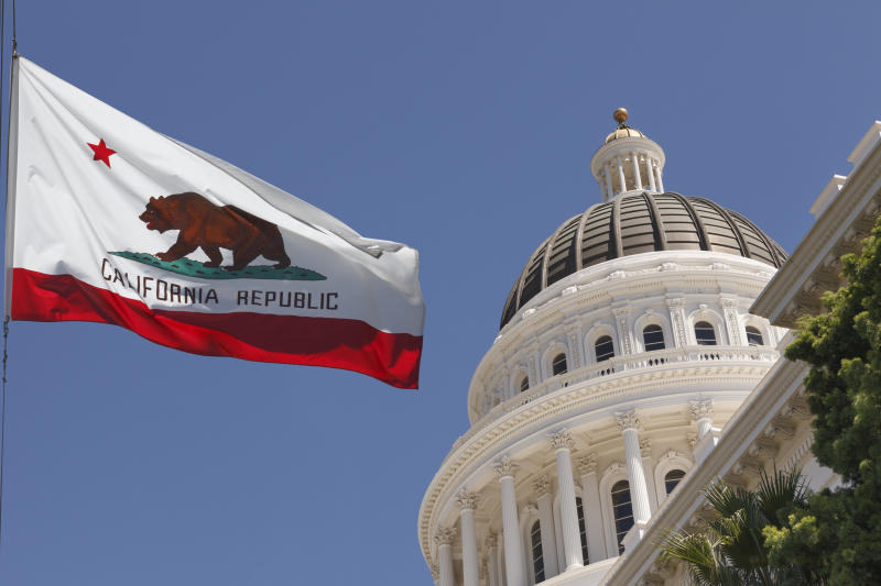 The judgesaidCalifornia'sright-to-die law was passed improperly.