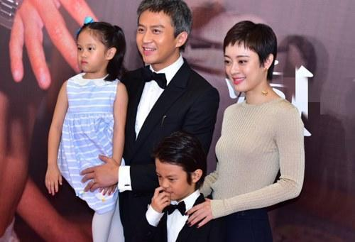 The actress is a mother of two children