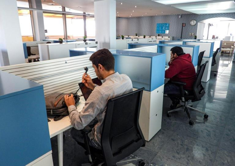 Libya's coworking spaces provide those needing to connect online with everything from backup electricity generators and solar panels to power inverters