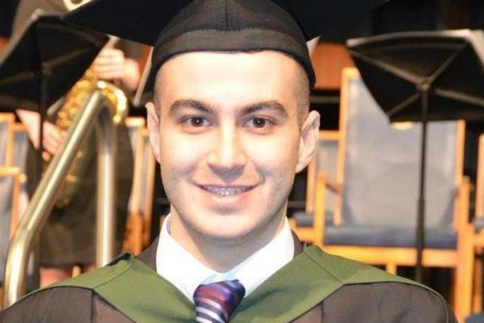 Ahmed Sedeeq, from Mosul in Iraq, was in the final year of his computer science PhD: Ahmed Sedeeq