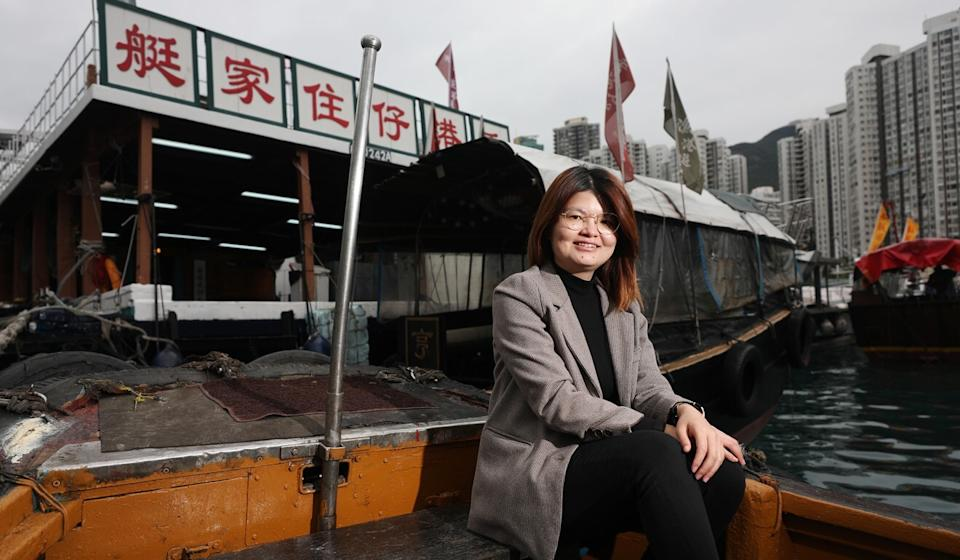 Connie Chiu manager of Sea-you Explorer Travel Limited in Aberdeen. Photo: Xiaomei Chen