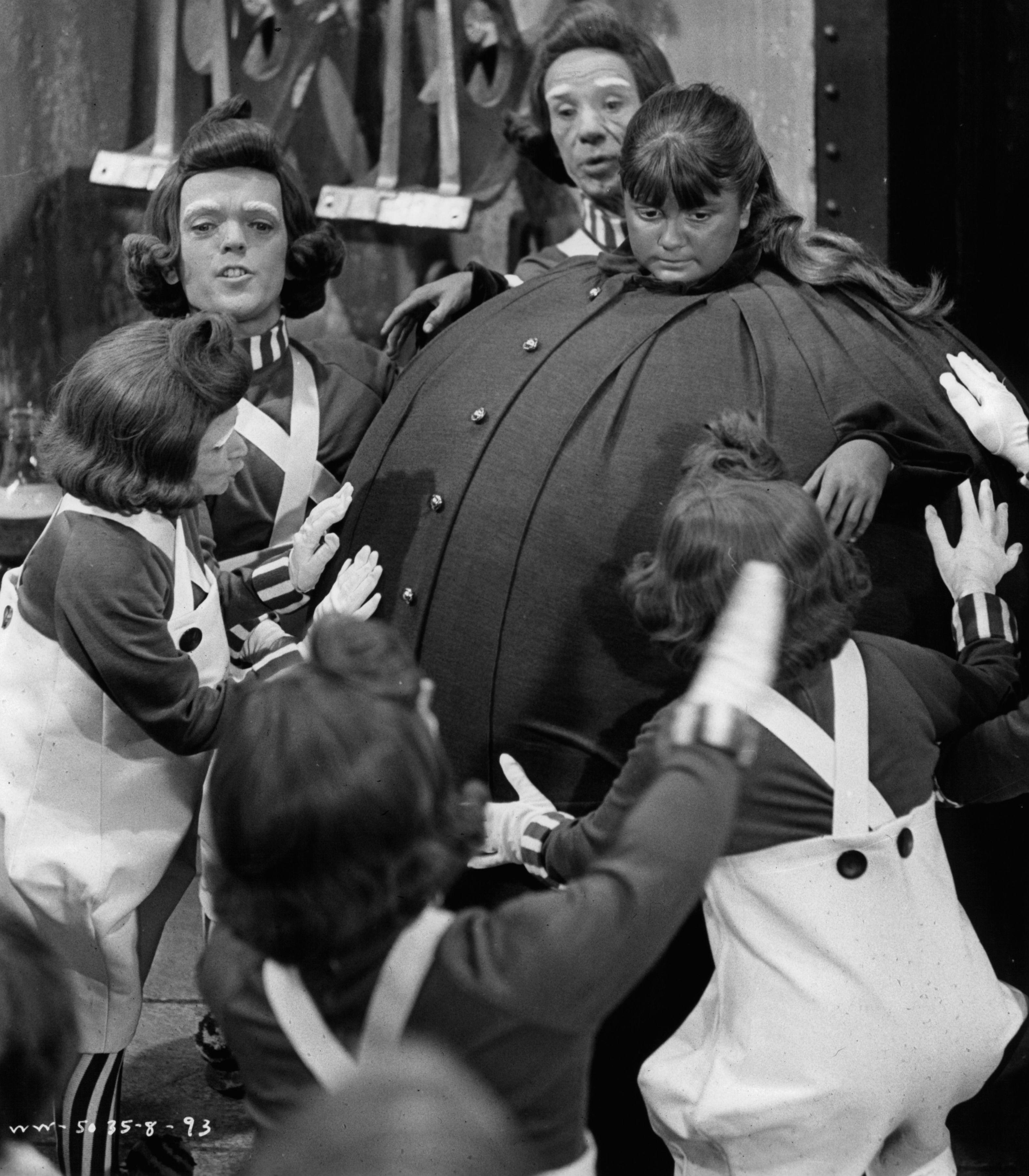 Nickerson as Violet Beauregarde in Willy Wonka & The Chocolate Factory (Credit: Paramount/Getty)