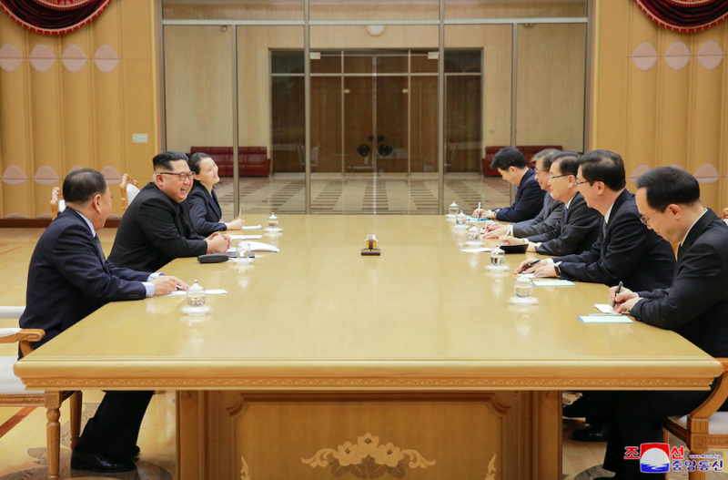 Kim meets members of South Korean delegation in Pyongyang More