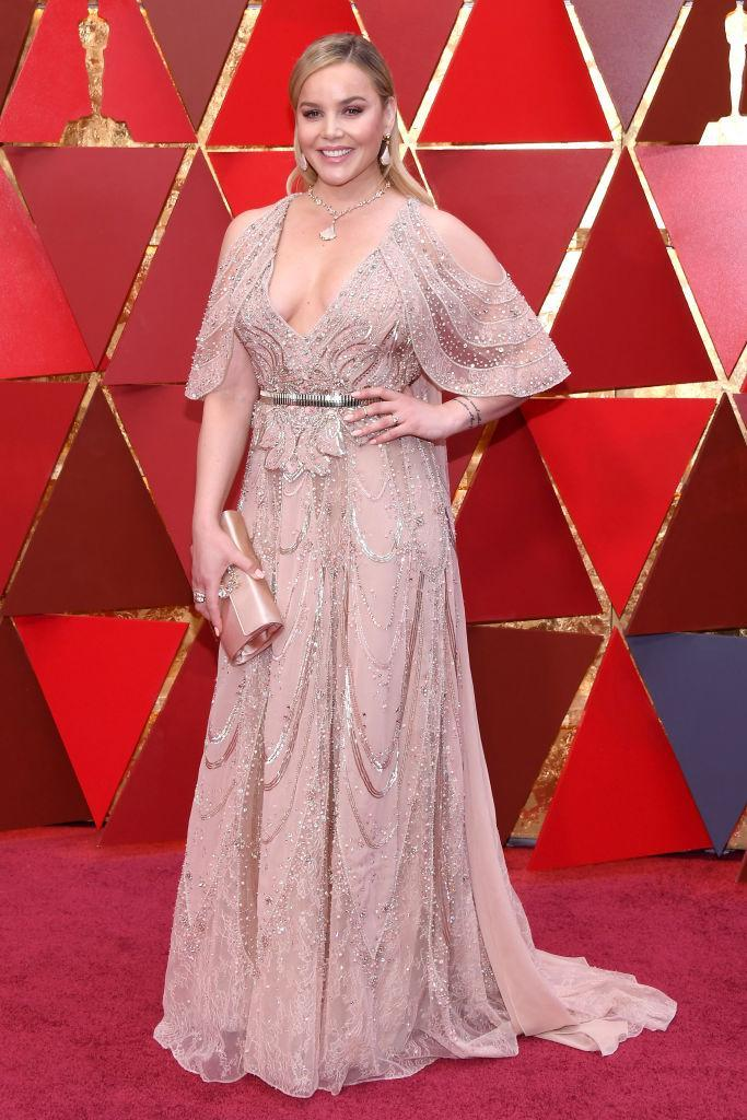 <p>Abbie Cornish attends the 90th Academy Awards in Hollywood, Calif., March 4, 2018. (Photo: Getty Images) </p>