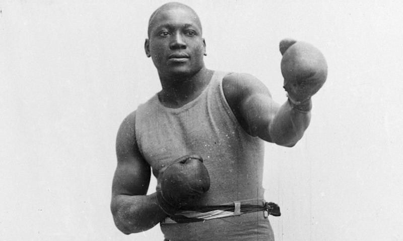 Jack Johnson, seen in 1910.