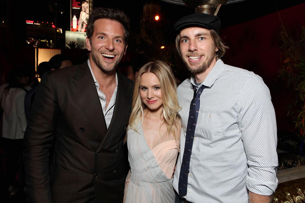 """<a href=""""http://movies.yahoo.com/movie/contributor/1804751131"""">Bradley Cooper</a>, <a href=""""http://movies.yahoo.com/movie/contributor/1808491155"""">Kristen Bell</a> and <a href=""""http://movies.yahoo.com/movie/contributor/1808523289"""">Dax Shepard</a> attends the Los Angeles premiere of <a href=""""http://movies.yahoo.com/movie/1810187722/info"""">The Hangover Part II</a> on May 19, 2011."""