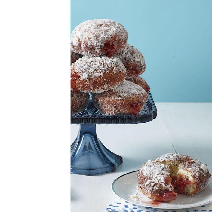 """<p>Nothing beats fresh doughnuts, and what could be fresher than ones made right there at home? The powdered sugar coating perfectly compliments these tangy bites. <a href=""""https://www.womansday.com/food-recipes/food-drinks/recipes/a60680/lemon-poppy-seed-jelly-doughnuts-recipe/"""" rel=""""nofollow noopener"""" target=""""_blank"""" data-ylk=""""slk:"""" class=""""link rapid-noclick-resp""""><br></a></p><p><em><a href=""""https://www.womansday.com/food-recipes/food-drinks/recipes/a60680/lemon-poppy-seed-jelly-doughnuts-recipe/"""" rel=""""nofollow noopener"""" target=""""_blank"""" data-ylk=""""slk:Get the Lemon Poppy Seed Jelly Doughnuts recipe."""" class=""""link rapid-noclick-resp"""">Get the Lemon Poppy Seed Jelly Doughnuts recipe.</a></em></p><p><strong>RELATED:</strong> <a href=""""https://www.womansday.com/life/g32688919/funny-fathers-day-quotes/"""" rel=""""nofollow noopener"""" target=""""_blank"""" data-ylk=""""slk:Funny Father's Day Quotes for the Perfect Instagram Caption"""" class=""""link rapid-noclick-resp"""">Funny Father's Day Quotes for the Perfect Instagram Caption</a></p>"""
