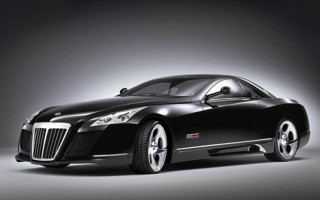 Black Maybach Exelero (2017)