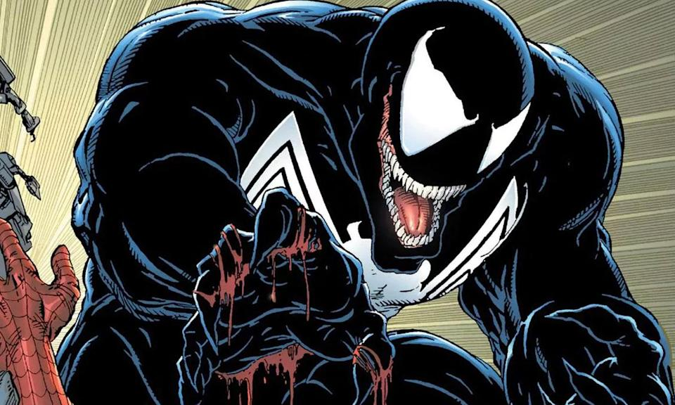 Tom Hardy hopes to lay the ghosts of 'Spider-Man 3' to rest with an audacious new vision for Marvel villain Venom. 'Zombieland' director Ruben Fleischer directs an all-star cast that includes Michelle Williams, Riz Ahmed, and Jenny Slate.