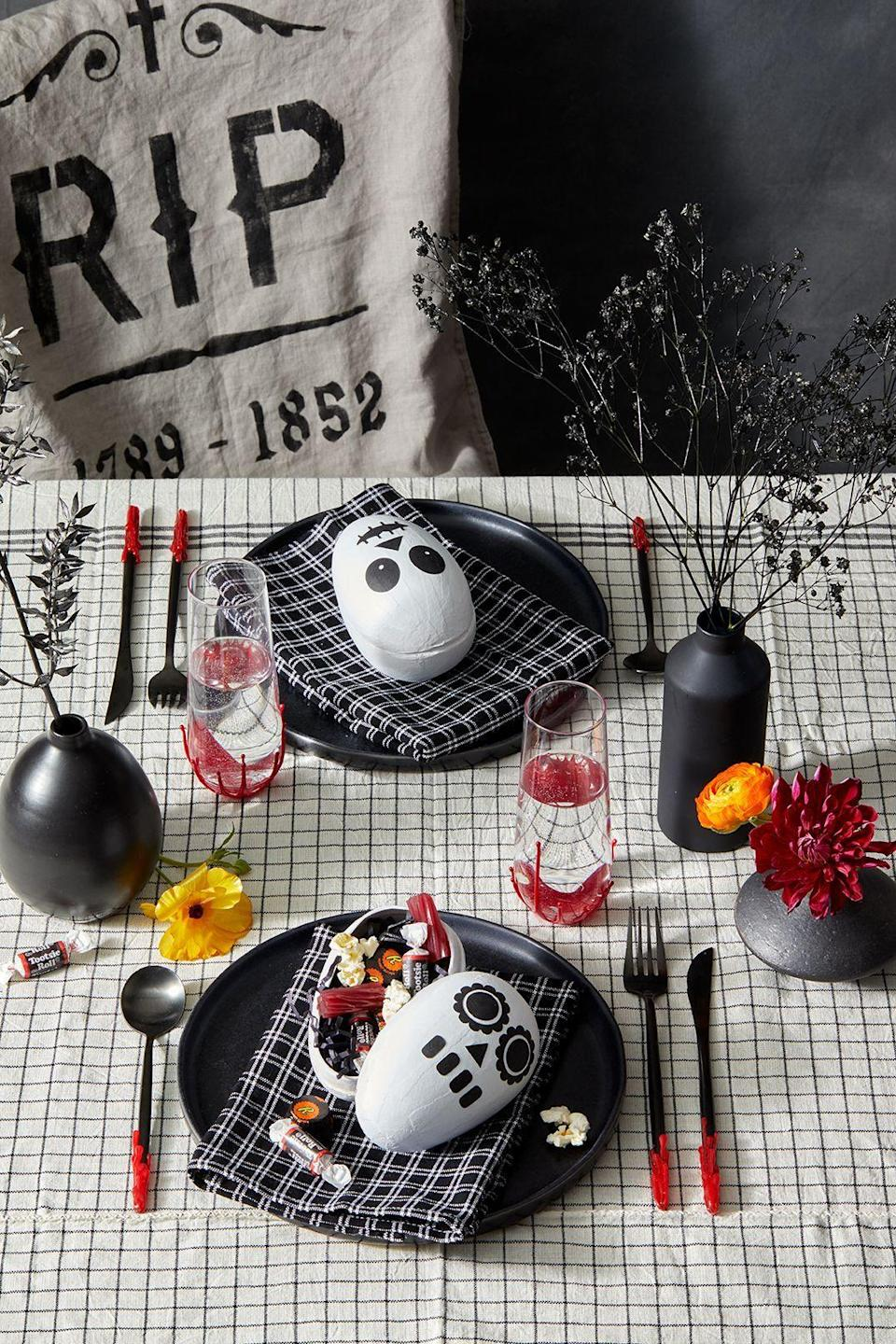 """<p>There's no better time to show off your creativity than Halloween. Whether you're partial to gory <a href=""""https://www.goodhousekeeping.com/holidays/halloween-ideas/g28378572/amazon-halloween-decorations/"""" rel=""""nofollow noopener"""" target=""""_blank"""" data-ylk=""""slk:Halloween decorations"""" class=""""link rapid-noclick-resp"""">Halloween decorations</a> (<a href=""""https://www.goodhousekeeping.com/holidays/halloween-ideas/a24170356/diy-witch-costume/"""" rel=""""nofollow noopener"""" target=""""_blank"""" data-ylk=""""slk:witches"""" class=""""link rapid-noclick-resp"""">witches</a>, anyone?) or prefer to keep it cute and simple, like these <a href=""""https://www.goodhousekeeping.com/holidays/halloween-ideas/g22062770/halloween-crafts-for-kids/"""" rel=""""nofollow noopener"""" target=""""_blank"""" data-ylk=""""slk:crafts for kids"""" class=""""link rapid-noclick-resp"""">crafts for kids</a>, you can land on the right ideas to delight your family, <a href=""""https://www.goodhousekeeping.com/holidays/halloween-ideas/g28340854/adult-halloween-party-games/"""" rel=""""nofollow noopener"""" target=""""_blank"""" data-ylk=""""slk:party guests"""" class=""""link rapid-noclick-resp"""">party guests</a> and trick-or-treaters. </p><p>There's so much to consider when it comes to Halloween decorating. Beyond revamping your <a href=""""https://www.goodhousekeeping.com/holidays/halloween-ideas/g32948621/halloween-door-decorations/"""" rel=""""nofollow noopener"""" target=""""_blank"""" data-ylk=""""slk:front door"""" class=""""link rapid-noclick-resp"""">front door</a> (a <a href=""""https://www.goodhousekeeping.com/holidays/halloween-ideas/g79/diy-halloween-wreaths/"""" rel=""""nofollow noopener"""" target=""""_blank"""" data-ylk=""""slk:festive wreath"""" class=""""link rapid-noclick-resp"""">festive wreath</a> is always a good idea), there's room to <a href=""""https://www.goodhousekeeping.com/holidays/halloween-ideas/g28325572/halloween-window-decorations/"""" rel=""""nofollow noopener"""" target=""""_blank"""" data-ylk=""""slk:transform your windows"""" class=""""link rapid-noclick-resp"""">transform your windows</a>, living room mantel and even your dinner """