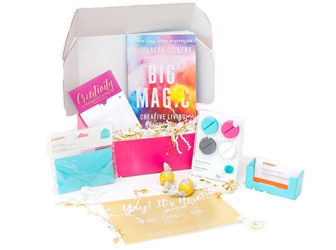 """<h2>47. Sparkle Hustle Grow</h2> <p><strong>Cost: </strong>$41/month</p> <p><strong>What you get:</strong> Four to Six office supplies items, a book and access to training courses</p> <p><strong>Why we love it:</strong> Female entrepreneurs everywhere, meet your monthly source of inspiration. This carefully curated box is designed to help you and your business reach their full potential with a motivational book and access to online courses and tutorials. On top of that, you'll receive stylish items to upgrade your workspace (think planners and stationery) and access to the service's private networking group.</p> <p><a class=""""link rapid-noclick-resp"""" href=""""https://www.cratejoy.com/subscription-box/sparkle-hustle-grow/?irgwc=1&clickid=WTlUgX3PkRuW28O3QX1-xxAoUkjR80yfuVn1080&utm_medium=AFF&utm_source=IR&utm_basket=admitad%20GmbH&utm_carton=ONLINE_TRACKING_LINK&utm_egg=Online%20Tracking%20Link"""" rel=""""nofollow noopener"""" target=""""_blank"""" data-ylk=""""slk:Sign Up"""">Sign Up</a></p>"""