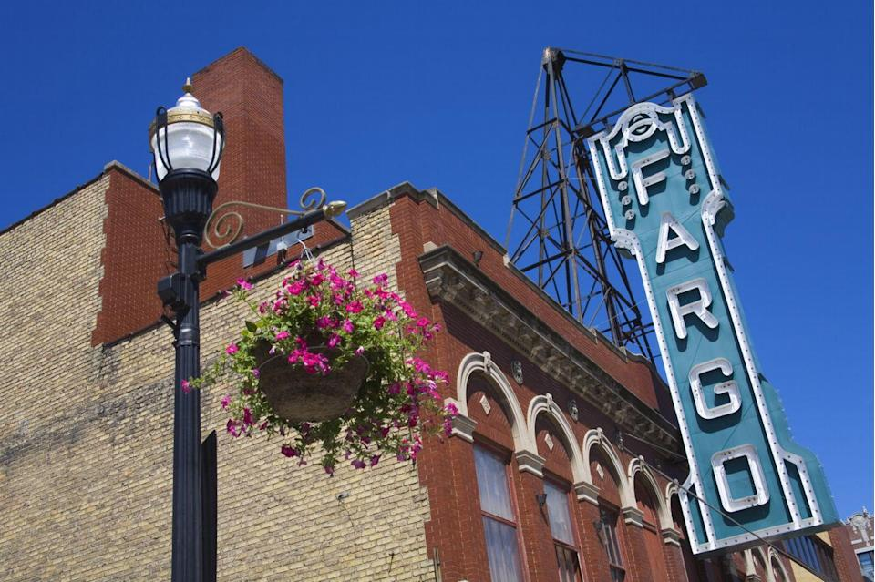 """<p>Yes, it's a small city (the population is just above 100,000), but it's where all the antiques action is in North Dakota. Shop for vintage vinyl at <a href=""""http://www.phatkatantiques.com/"""" rel=""""nofollow noopener"""" target=""""_blank"""" data-ylk=""""slk:Phat Kat Antiques"""" class=""""link rapid-noclick-resp"""">Phat Kat Antiques</a>, or hunt for treasures at the <a href=""""https://www.facebook.com/fargoantiques/"""" rel=""""nofollow noopener"""" target=""""_blank"""" data-ylk=""""slk:Fargo Antiques & Repurposed Market"""" class=""""link rapid-noclick-resp"""">Fargo Antiques & Repurposed Market</a>.</p>"""