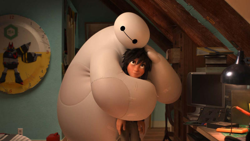 'Big Hero 6'. (Credit: Disney)