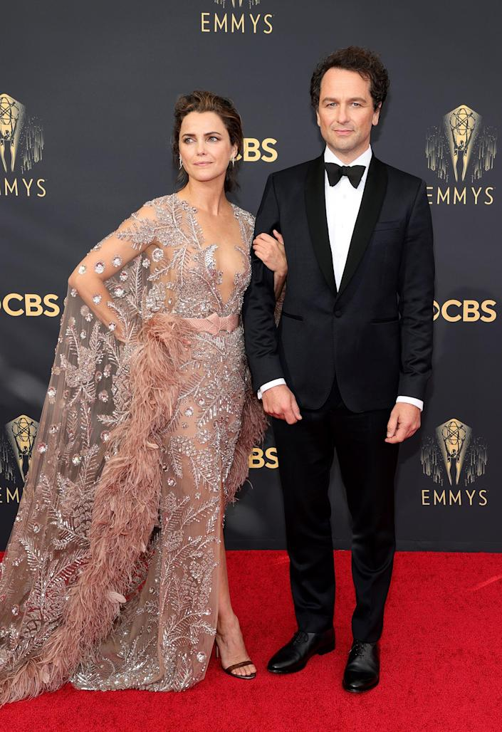 Keri Russell Emmys red carpet 2021 (Rich Fury / Getty Images)