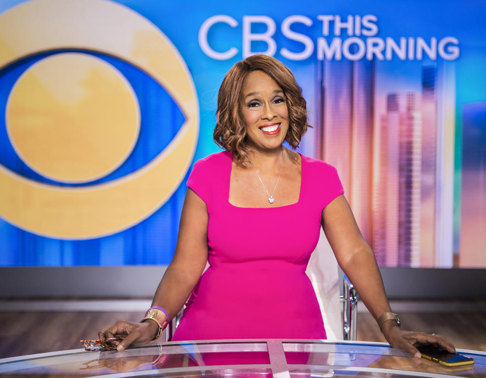 NEW YORK - SEPTEMBER 22: CBS THIS MORNING co-host Gayle King. (Photo by Michele Crowe/CBS via Getty Images)