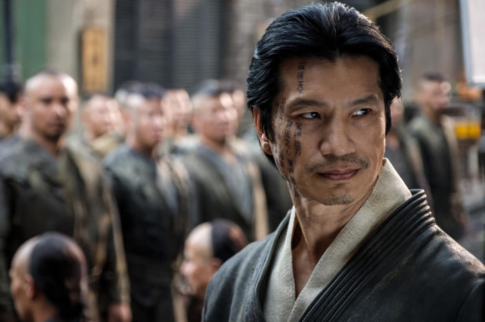 """This image released by Cinemax shows Dustin Nguyen in a scene from the drama series """"Warrior."""" The historical drama inspired by Bruce Lee's original idea premieres its second season on Friday. (Cinemax via AP)"""