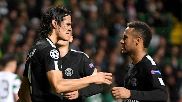 Neymar still has plenty to offer Paris Saint-Germain, according to team-mate Edinson Cavani, who has urged the Brazilian to stay put.