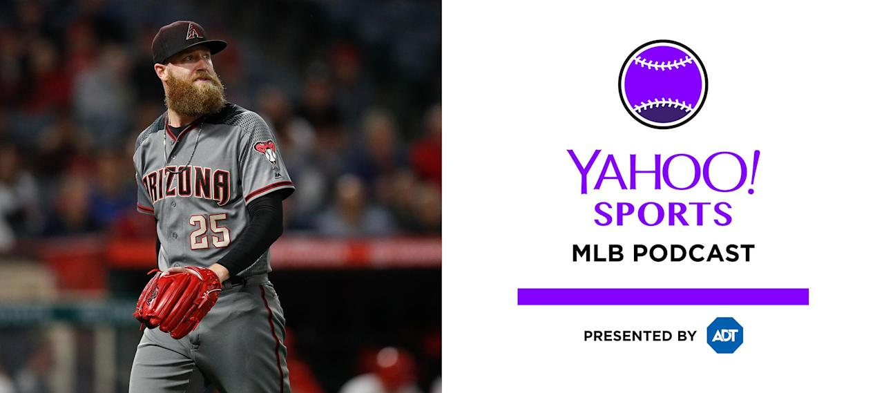 Yahoo Sports MLB podcast: Archie Bradley tells the story of pooping his  pants during a game