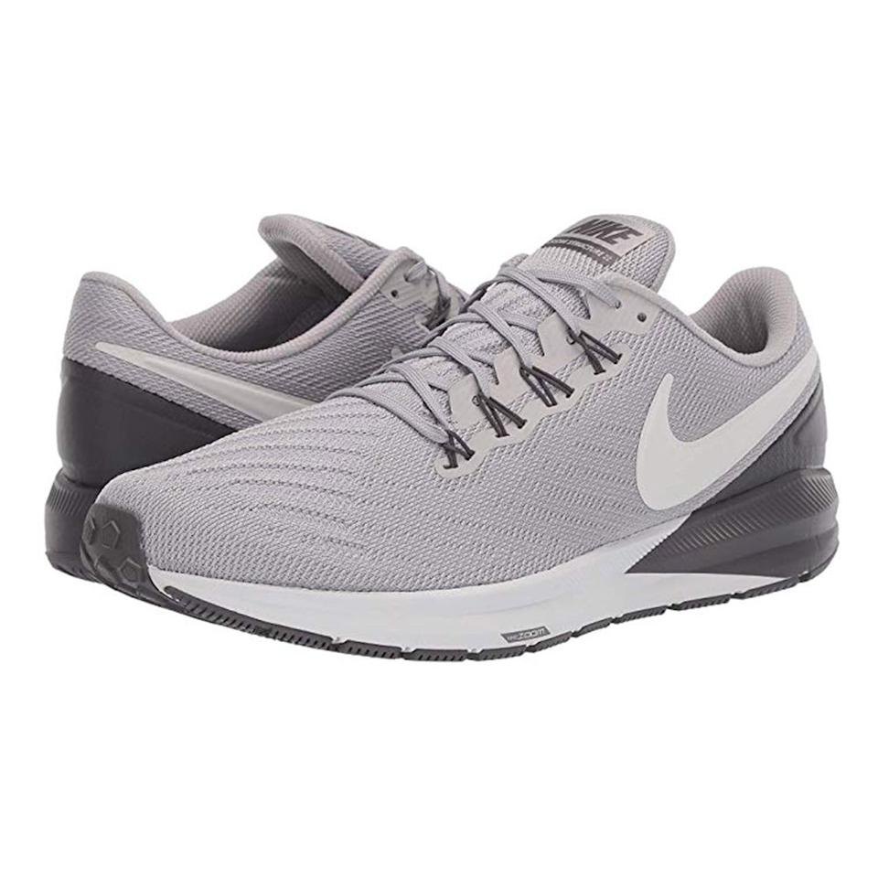 """<p><strong>Nike</strong></p><p>zappos.com</p><p><a href=""""https://go.redirectingat.com?id=74968X1596630&url=https%3A%2F%2Fwww.zappos.com%2Fp%2Fnike-air-zoom-structure-22%2Fproduct%2F9322818&sref=http%3A%2F%2Fwww.menshealth.com%2Ftechnology-gear%2Fg28591494%2Fzappos-nike-sale%2F"""" target=""""_blank"""">BUY IT HERE</a></p><p>Original Price: <del>$120.00</del></p><p><strong>Price With Code NIKESALE19: $71.98</strong></p>"""