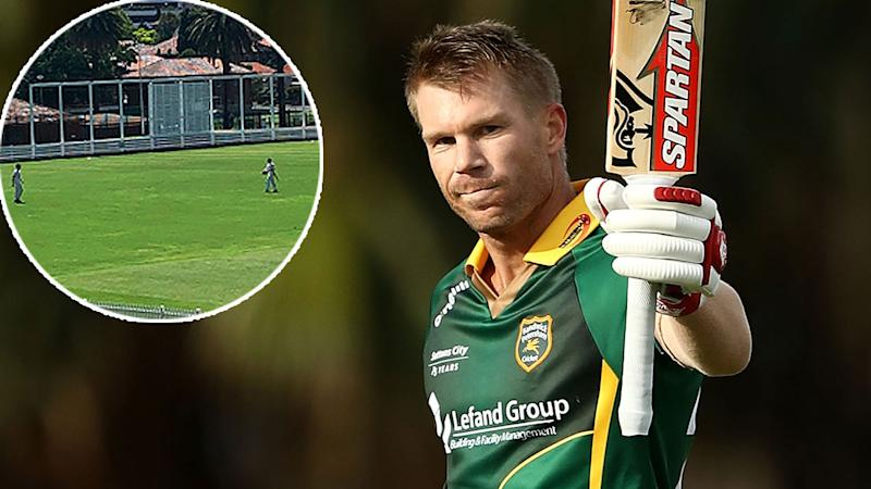 David Warner walks off cricket field mid-game over 'insensitive' sledge