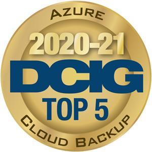 HYCU Honored as a DCIG Azure Cloud Backup TOP 5 Solution