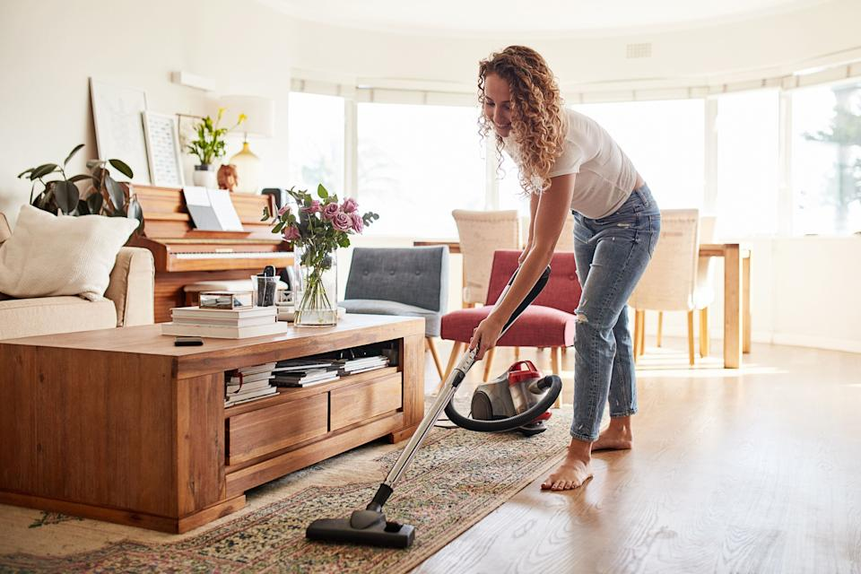 "All the best Prime Day 2020 vacuum deals from <a href=""https://amzn.to/2GUyz9V"" target=""_blank"" rel=""noopener noreferrer"">Amazon</a>, <a href=""https://goto.target.com/c/2055067/81938/2092?u=https%3A%2F%2Fwww.target.com%2F&subid1=5&subid2=primedaytargetdeals&subid3=vacuums"" target=""_blank"" rel=""noopener noreferrer"">Target</a> and <a href=""https://goto.walmart.com/c/2055067/565706/9383?u=https%3A%2F%2Fwww.walmart.com%2F&subid1=5&subid2=primedaywalmartdeals&subid3=vacuums"" target=""_blank"" rel=""noopener noreferrer"">Walmart</a>. (Photo: LumiNola via Getty Images)"