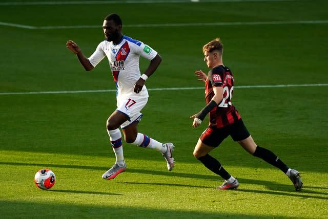 Bournemouth attacker David Brooks, right, enjoyed a superb debut season at the Vitality Stadium in 2018-19 (Will Oliver/NMC Pool)