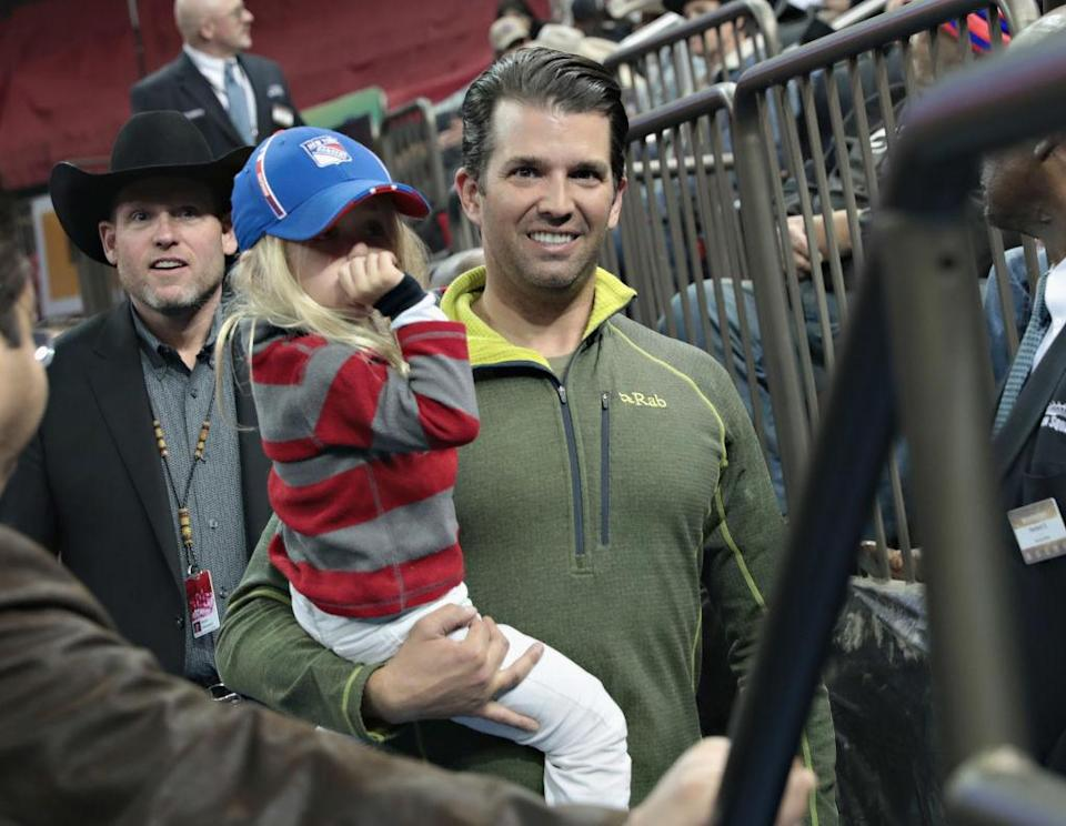 Donald Trump Jr.'s daughter, Chloe, is now being targeted by angry Americans. (Photo: Getty Images)