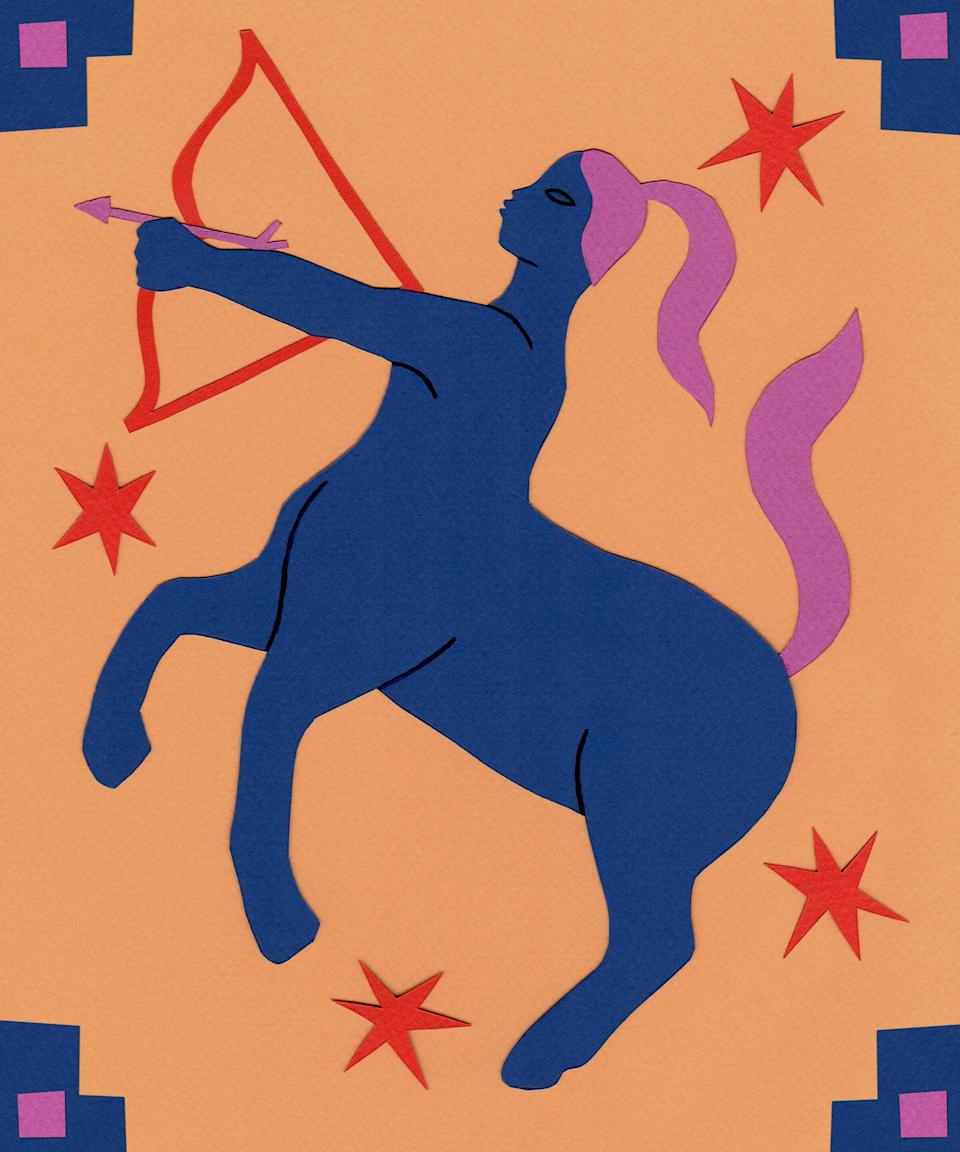 """<strong>Sagittarius</strong> <strong>& Sagittarius Rising:</strong> <strong>November 22 to December 21</strong><br><br>There's no shame in wanting more for yourself. And, even if you feel a little shame, it's good to remember that while shame is something many people are raised with, it's not our guardian. If you want to share more of yourself with the world, that is a human need. If you want to earn more for the work you do, if you want to feel valued in a very literal sense, you are justified. If you can hold your doubts and your fear alongside your ambition and let them get to know each other you might start to hear a gentle voice within you call out, """"Well, come on."""""""