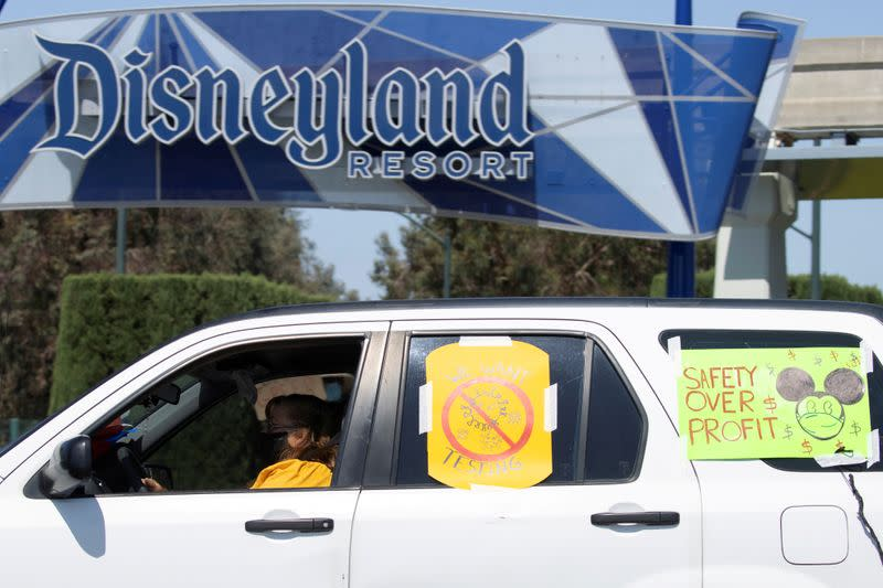 Disneyland reopening on hold as California delays theme park guidelines