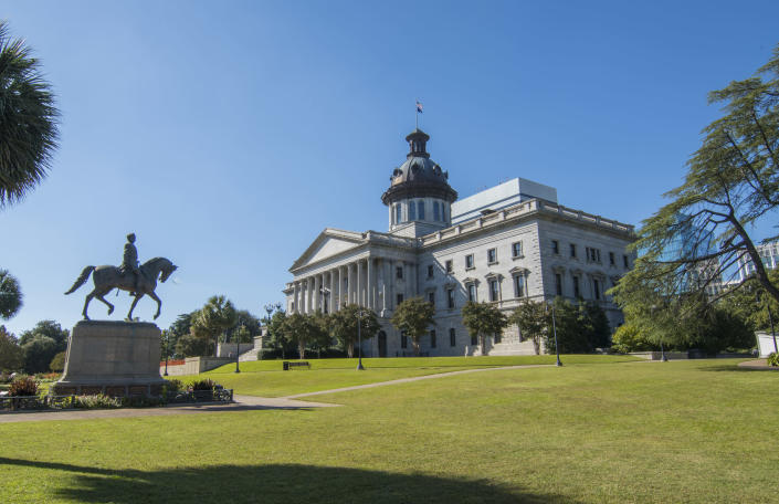 The South Carolina State House. (Getty Images)