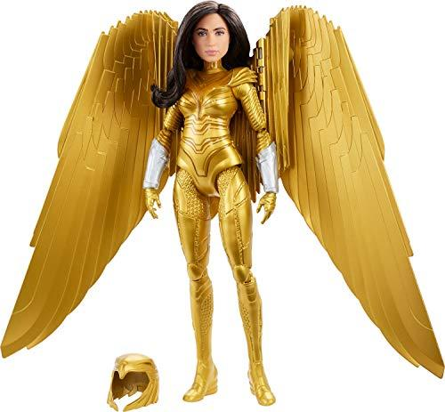 Mattel Wonder Woman 1984 Golden Armor Doll (~12-inch) in Light-Up Armor, Collectible Superhero Doll for 6 Year Olds and Up (Amazon / Amazon)