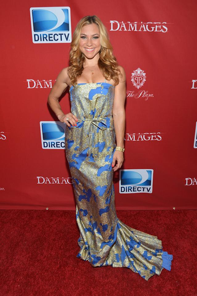 """Allison Hagendorf attends The DirecTV premiere for the fifth and final season of """"Damages"""" at Paris Theater on June 28, 2012 in New York City."""