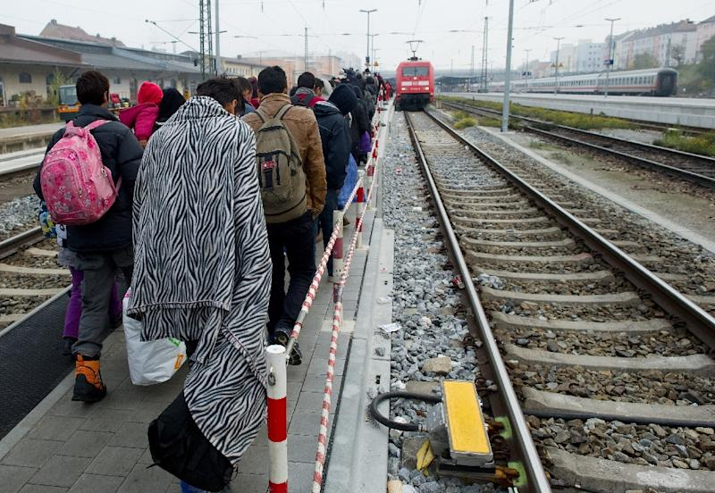 Germany registered more than 758,000 asylum seekers from January to October this year, the interior ministry says (AFP Photo/Angelika Warmuth)