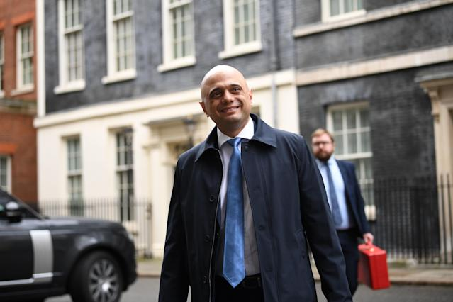Chancellor of the Exchequer Sajid Javid unveiled the coins this weekend. (PA)