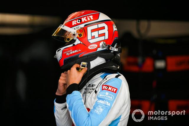 """George Russell, Williams Racing <span class=""""copyright"""">Mark Sutton / Motorsport Images</span>"""