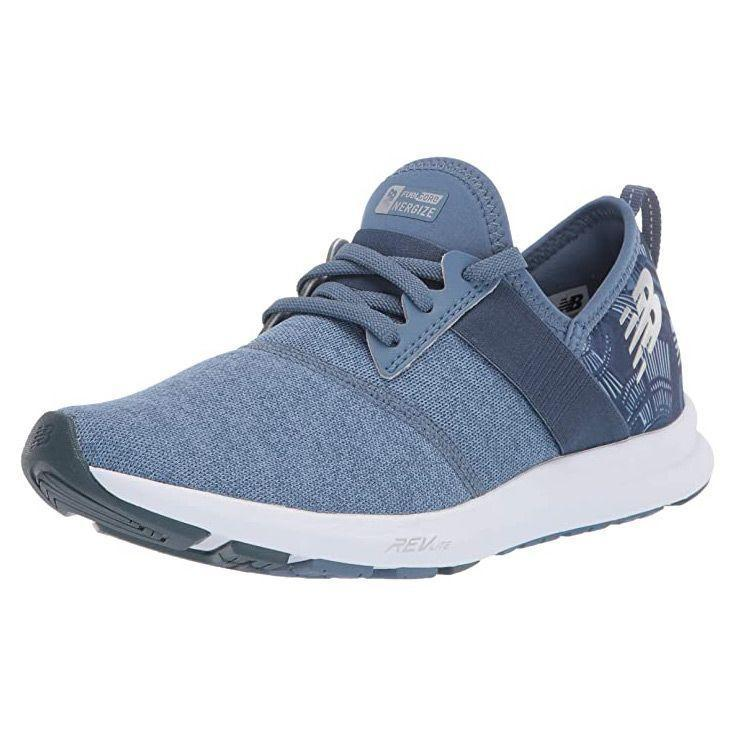 """<p><strong>New Balance</strong></p><p>amazon.com</p><p><strong>$38.99</strong></p><p><a href=""""https://www.amazon.com/dp/B005ATNKM6?tag=syn-yahoo-20&ascsubtag=%5Bartid%7C10055.g.33264582%5Bsrc%7Cyahoo-us"""" rel=""""nofollow noopener"""" target=""""_blank"""" data-ylk=""""slk:Shop Now"""" class=""""link rapid-noclick-resp"""">Shop Now</a></p><p>Starting at just around $40, these sneakers are one of the most affordable styles we evaluated while also having excellent performance. Testers raved that these sneakers were comfy to wear when walking and <a href=""""http://www.goodhousekeeping.com/health-products/g32379201/best-workout-shoes-for-women/"""" rel=""""nofollow noopener"""" target=""""_blank"""" data-ylk=""""slk:working out"""" class=""""link rapid-noclick-resp"""">working out</a>. Easy to pack in a gym bag, these were <strong>one of the lightest sneakers we evaluated</strong>. They're also available in an impressive 40 shades – we want one of each! </p>"""