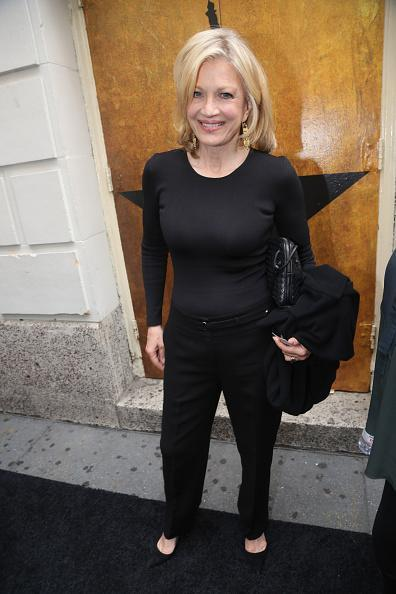 "<p>When all else fails, go with black. It seems as if Diane Sawyer stuck to that mantra as she attended the ""Hamilton"" opening night in basic black pants and a long sleeve tee.</p>"