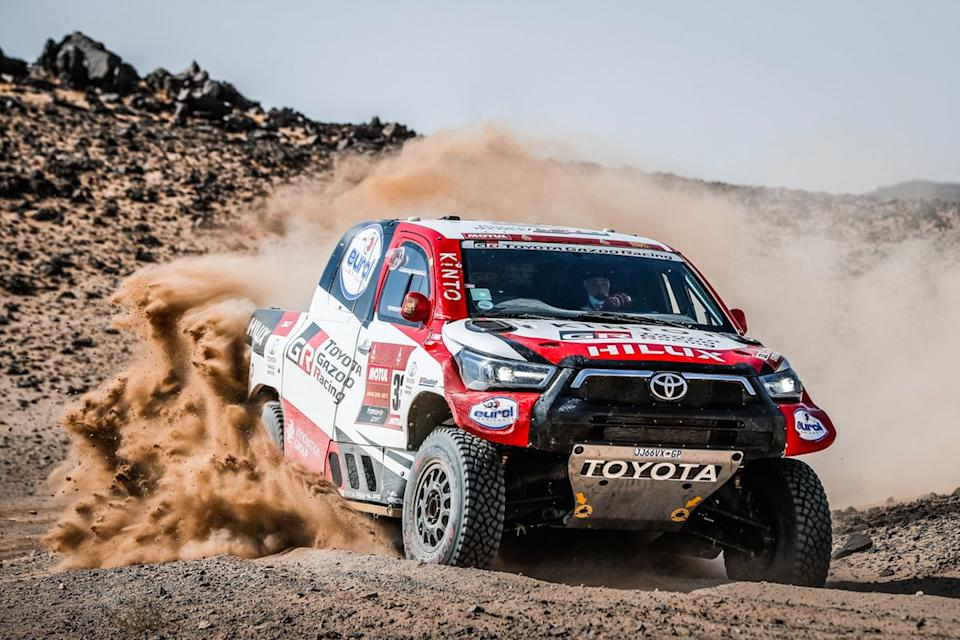"#332 Toyota Gazoo Racing: Henk Lategan, Brett Cummings<span class=""copyright"">A.S.O. </span>"