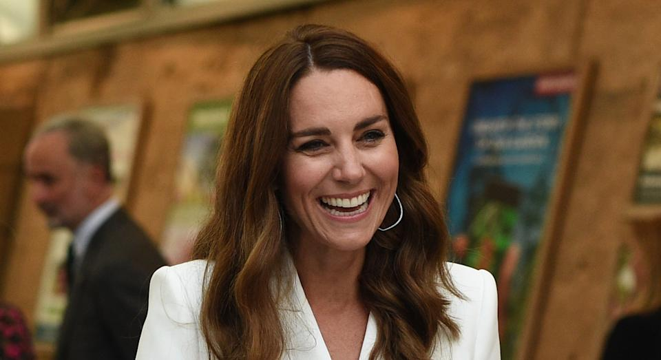 Kate Middleton attended a G7 dinner with other members of the royal family. (Getty Images)