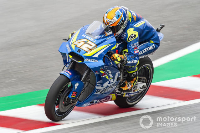 """2018 : Álex Rins <span class=""""copyright"""">Gold and Goose / Motorsport Images</span>"""