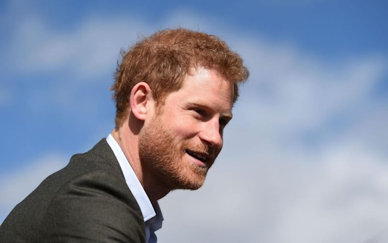 Prince Harry has spoken openly about his struggles after his mother's death - Credit: AFP