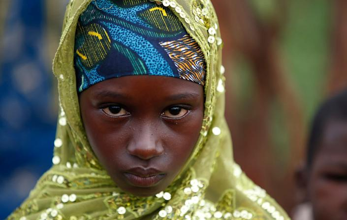 A girl from the Peul tribe stands in a village outside Bambari, Central African Republic. (Photo: Goran Tomasevic / Reuters)