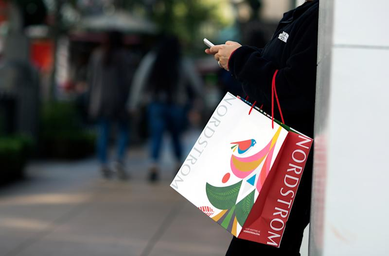 Shoppers At The Grove On The Biggest Shopping Day Of The Year