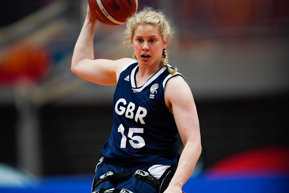 Great Britain have never won a wheelchair basketball Paralympic medal, but Robyn Love believes that can change this year.  Photo credit: SportsPressJP/AFLO